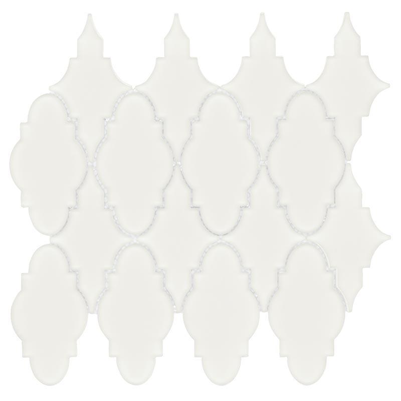 Simpson Desert Glass Trellis Alabastro 3x5.5, Matte, Mesh, Mosaic