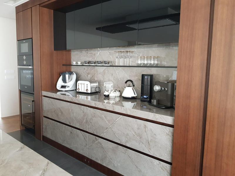 Group 3 Xgloss Stonika Collection Sogne Standard Size 57x126, 8 mm, Polished, Dark Grey, Porcelain, Slab
