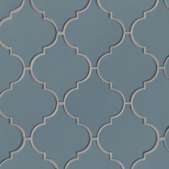 Costa Allegra Adriatic Arabesque Matte Ceramic  Mosaic (Discontinued)