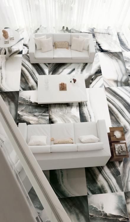Alabastri Fumee Polished 32x71 Porcelain  Tile