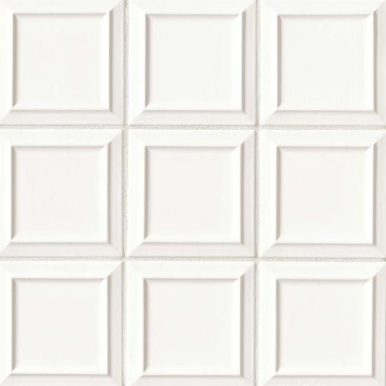 Costa Allegra White Sand Pacifico Matte 6x6 Ceramic  Tile (Discontinued)