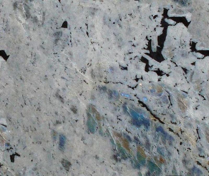 Granite Labradorite Bianca 57x120 0.75 in   Slab
