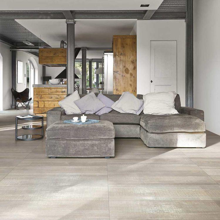 Deco Wood White Matte 10.5x71 Porcelain  Tile
