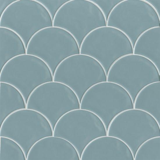 Sorrento Celeste Glossy 6x7 Ceramic  Tile