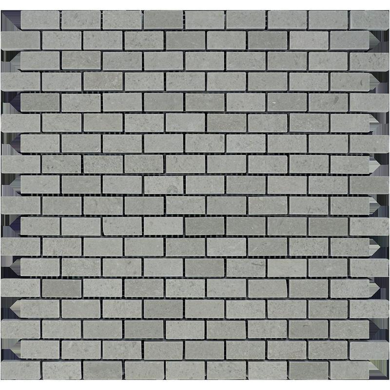 Marble Spanish Grey 0.63x1.25 Brick Polished   Mosaic