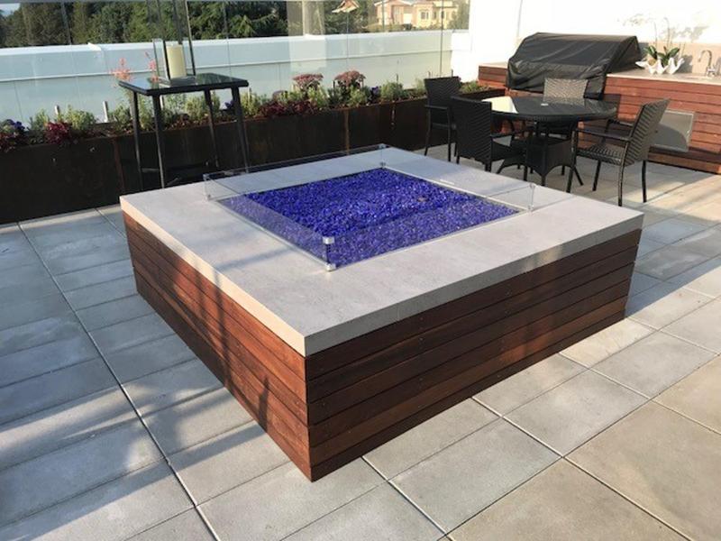 Group 0 Tech Tiles Blanc Concrete Suggested Size 28x42, Textured, Greige, Porcelain, Tile