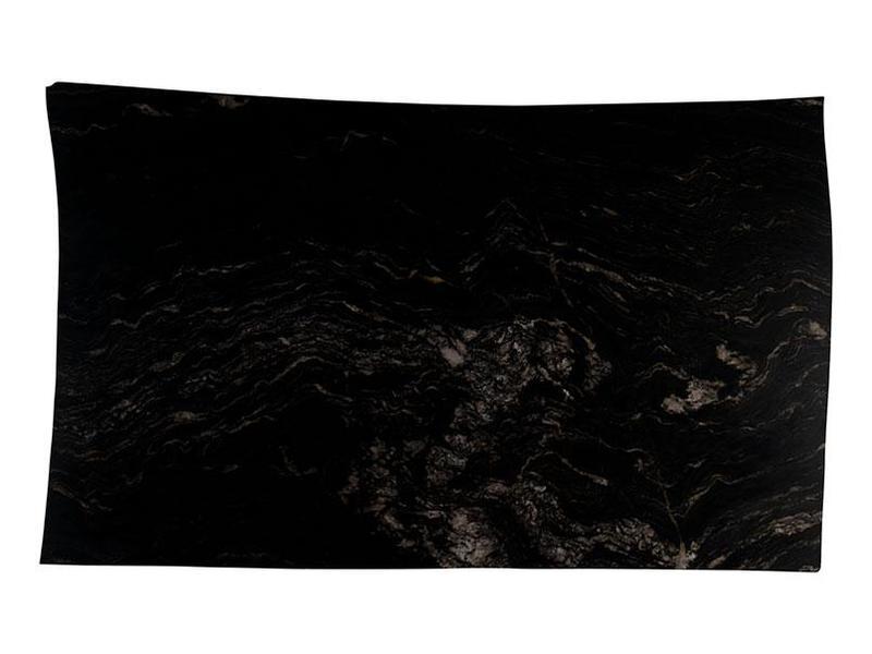 Granite Slabs Titanium 30 mm, Polished, Black, Slab