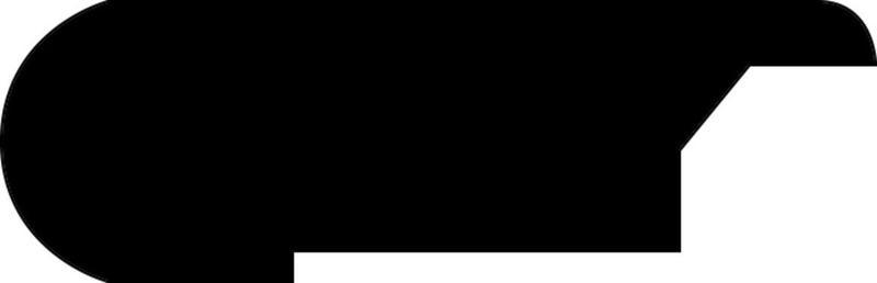 Mega Clic Xanadu Registered Collection Midnight Hickory 96 in, Embossed, Dark Brown, Laminate, Laminate-Trim
