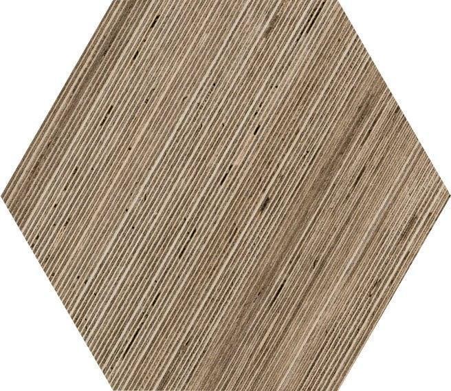 Shibusa Tortora 9x11, Textured, Hexagon, Color-Body-Porcelain, Tile