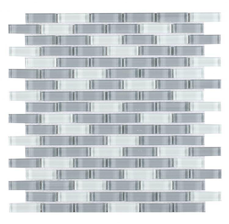 Linear Glass Summer Loft 5/8x2  Glossy   Mosaic