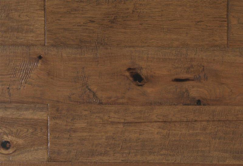 Mesa Hickory Collection Rustic Honey 90 in, Wire-Brushed, Brown, Engineered-Wood, Trim