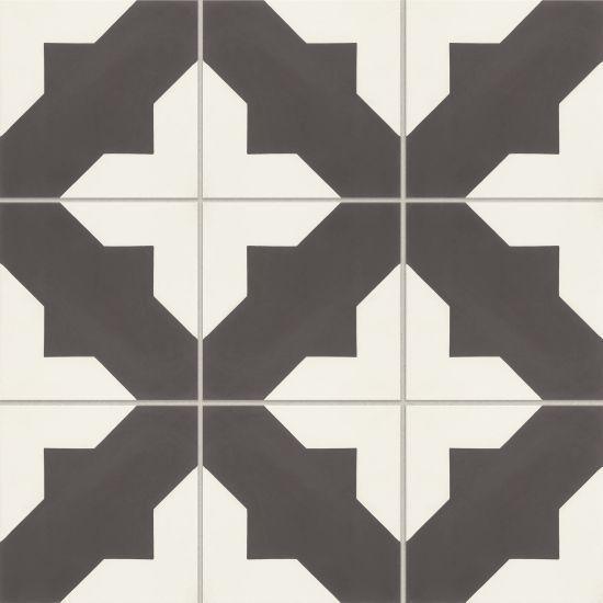 Remy Darcy 8x8, Matte, Square, Cement, Tile
