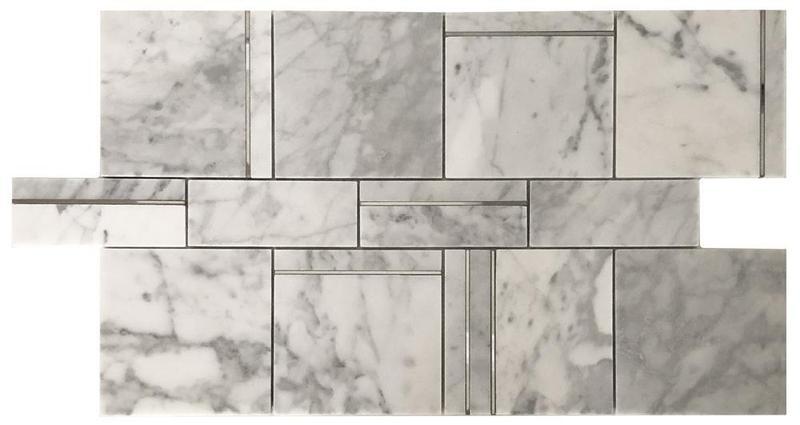 Rodeo Carrara Matte Mixed  Mosaic