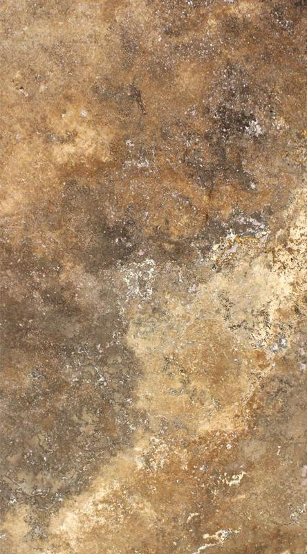 Travertine Mahogany 20 mm Honed  Slab
