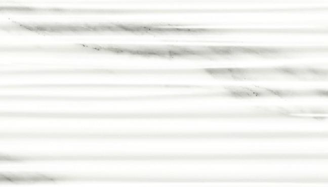 Marble Plus Statuario White Rows 12x36, Glossy, Large-Format, Ceramic, Tile