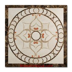 Grace Marble Medallion 48x72 Polished     (Discontinued)