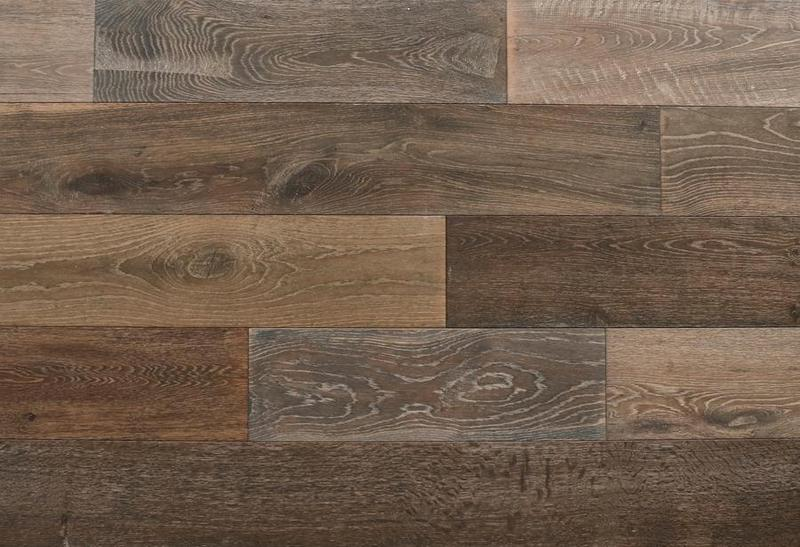 Seneca Valley Collection Sherwood 90 in, Wire-Brushed, Brown, Engineered-Wood, Trim