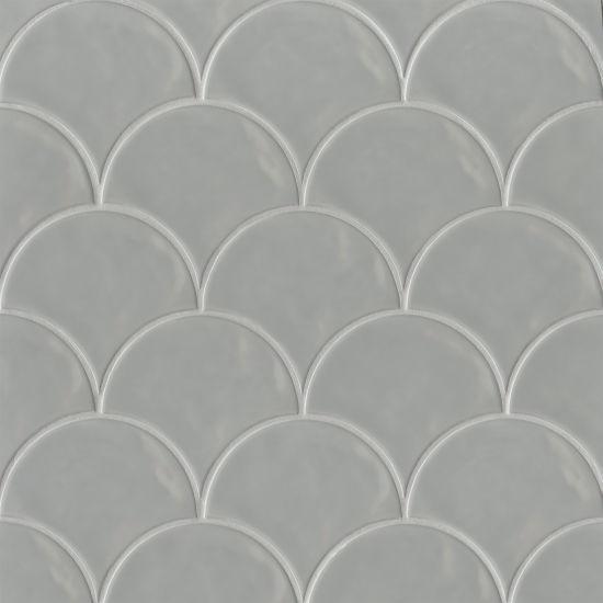 Sorrento Grigio Glossy 6x7 Ceramic  Tile