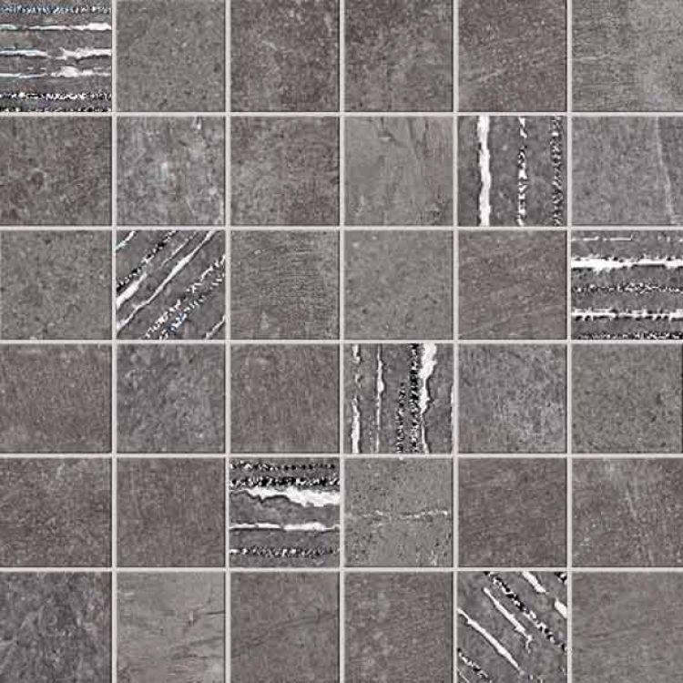 Sunstone Basalt 2x2 Square Matte Porcelain  Mosaic