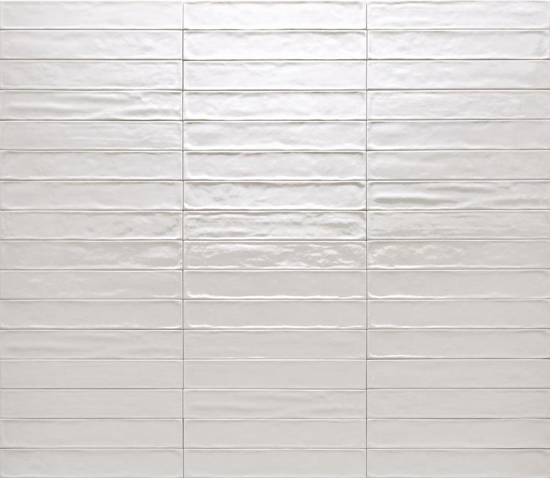 Ceramica Rondine Solid Cenere Glossy 2.5x15 Ceramic  Tile