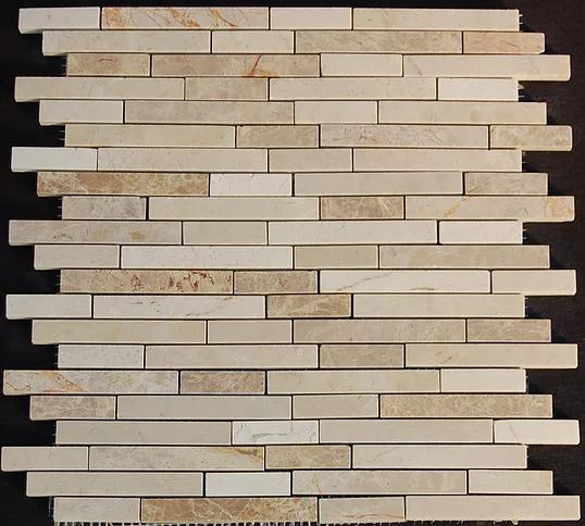 Stone Mosaic Crema Marfil Emperador Light Marble