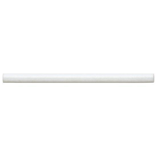 Cloé White Glossy 0.5x8 Ceramic Jolly