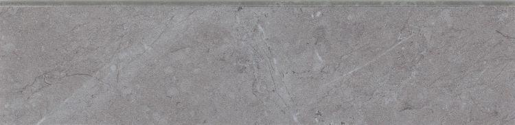 Lava Natural Grey Glazed, Matte 3x12 Porcelain Bullnose