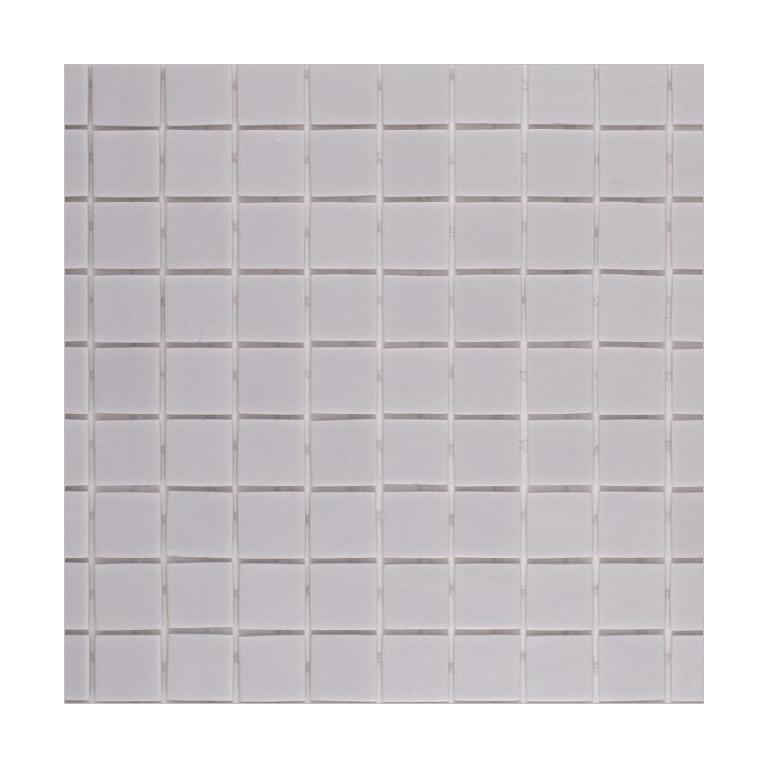 Onix Natureglass Malla Smooth Grey 1x1 Square  Glass  Mosaic