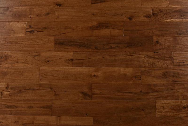 Exotics Mongolian Teak 4.75xfree length, Hand-Scraped, Mongolian-Teak, Solid-Hardwood, Wood