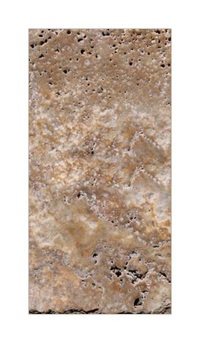 Noce Premium Travertine Tile 8x16 Chiseled     (Discontinued)