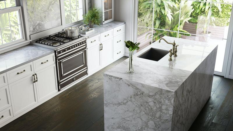 Group 4 Xgloss Stonika Collection Bergen Standard Size 57x126, 12 mm, Polished, Off White, Porcelain, Slab