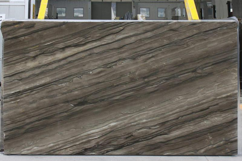 Marble Sequoia Brown 57x120 0.75 in Azerocare  Slab