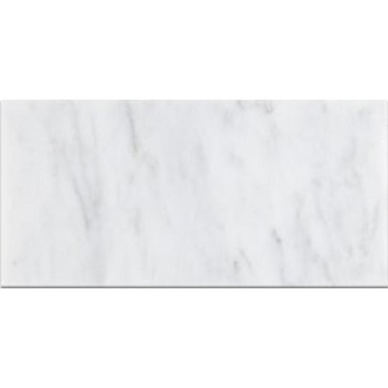 Oriental White Marble Tile 12x24 Honed