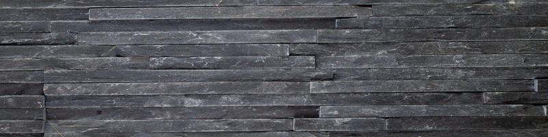 Charcoal Natural Stone Ledger Panel 6x24 Split-Face  Contemporary