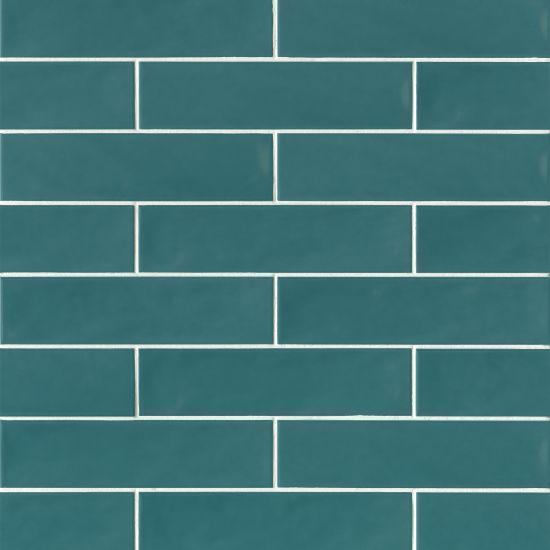 Sorrento Turchese Glossy 2.5x11 Ceramic  Tile