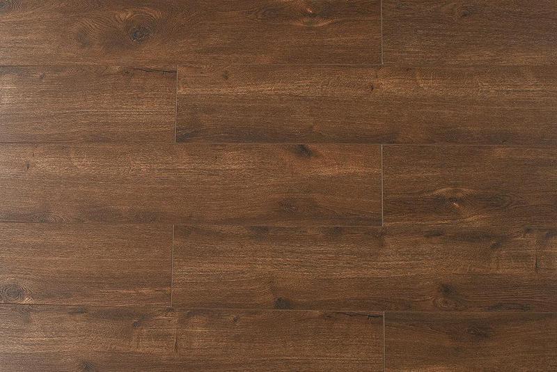 Opus By Montserrat Prime Chestnut 9x60, Textured, Brown, Vinyl, Wpc