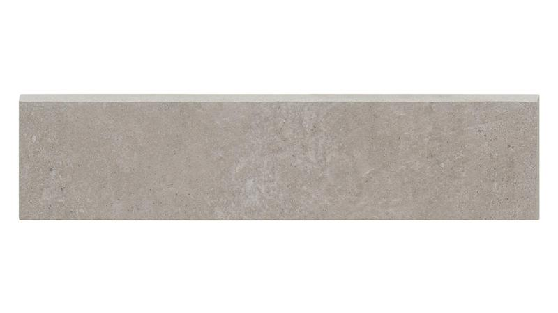 Simply Modern Grey Honed 3x12 Color Body Porcelain Bullnose