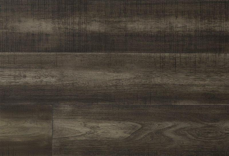 Avery Park Acacia Solid Collection Charcoal 90 in, Wire-Brushed, Dark Grey, Big-Leaf-Acacia, Engineered-Wood, Trim, (Discontinued)