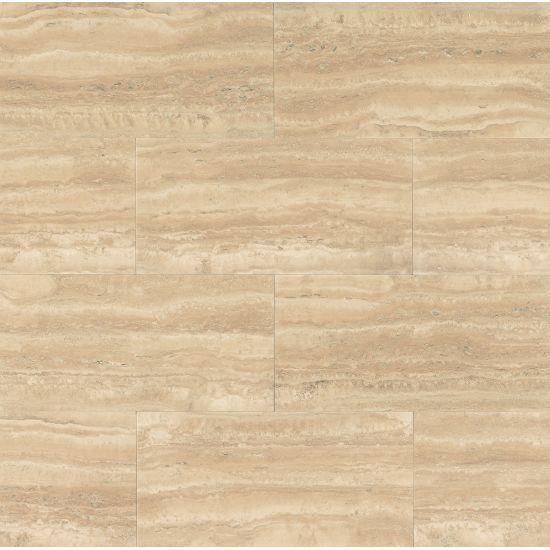 Aymaran Cream 18x36, Polished, Rectangle, Travertine, Tile