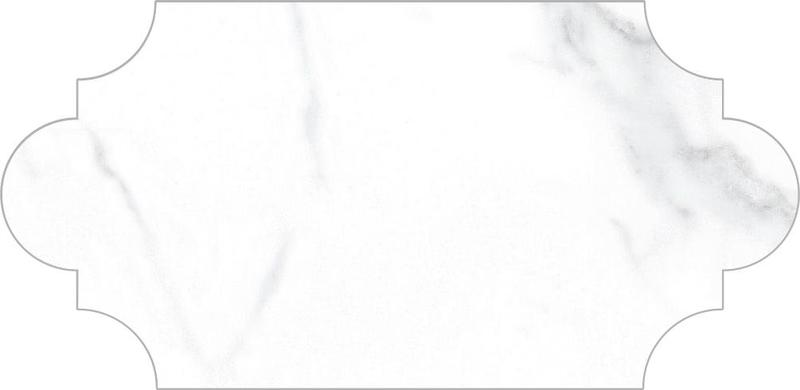 Vallelunga Statuario Polished 3.8x7.9 Porcelain  Tile