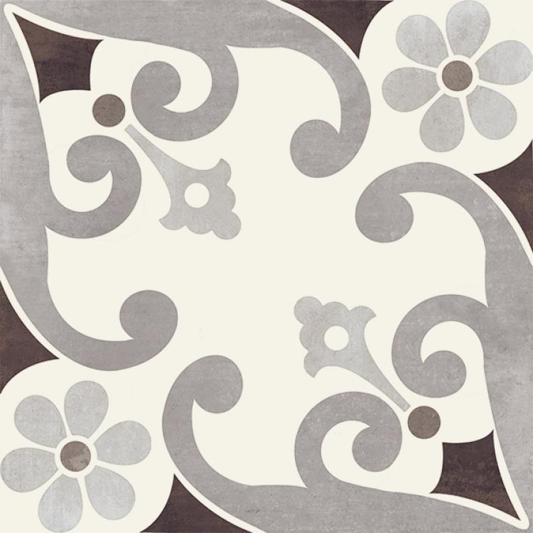 Paris Montmartre Marrone Matte, Glazed 8x8 Porcelain  Tile