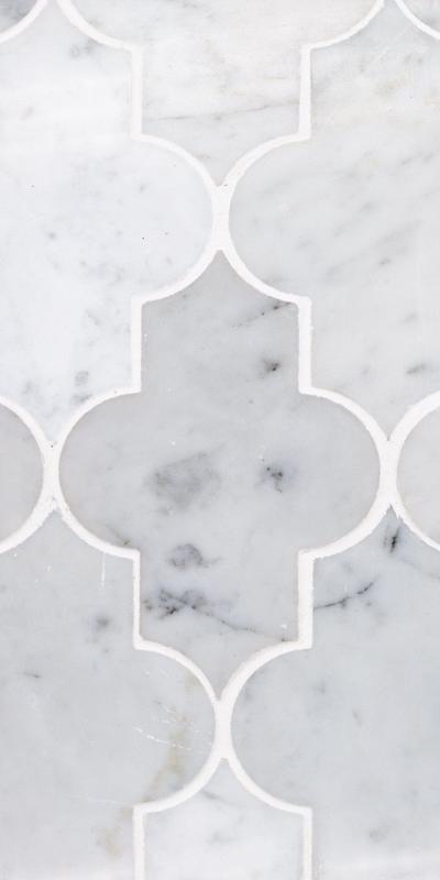 Sto Re Carrara Marrakech Polished Natural Stone  Mosaic