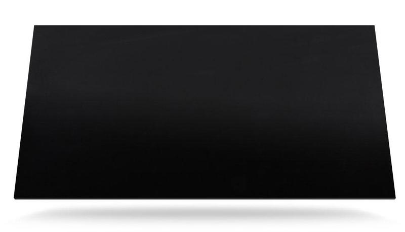 Group 4 Xgloss Solid Collection Spectra Standard Size 57x126, 12 mm, Polished, Black, Porcelain, Slab