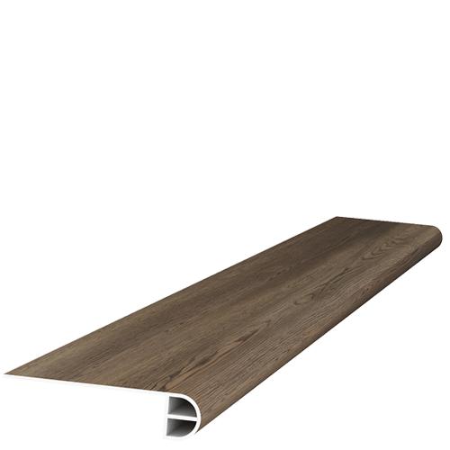 Spc Wood Carolina Oak 5x95 12 mil  Flush Stair Nose