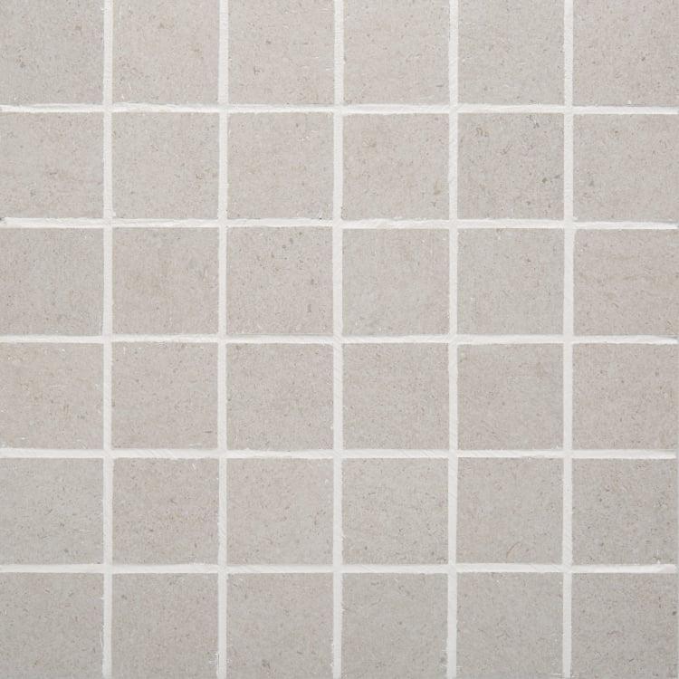 Pave Ash 2x2, Smooth, Square, Color-Body-Porcelain, Mosaic
