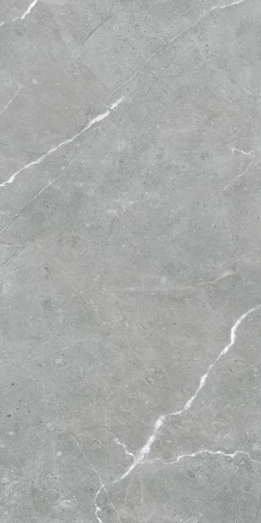 Lava Natural Grey Polished, Glazed 24x48 Porcelain  Tile