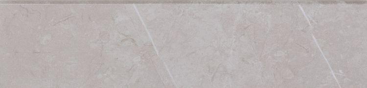 Lava Silver Grey Glazed, Matte 3x12 Porcelain Bullnose