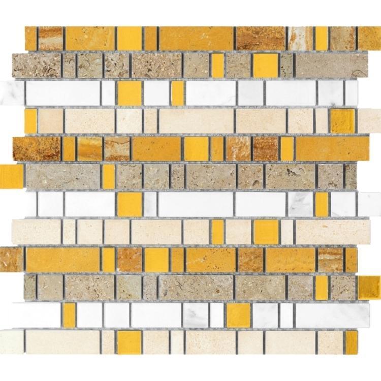 Linear Glass Dubai Mosaic