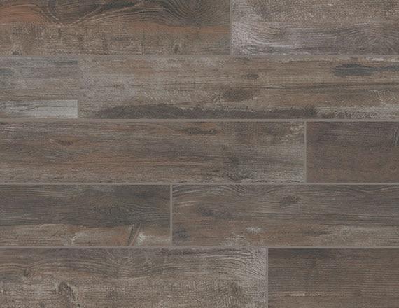 Bryson Valley Truffle Barnwood 8x48, Matte, Plank, Color-Body-Porcelain, Tile