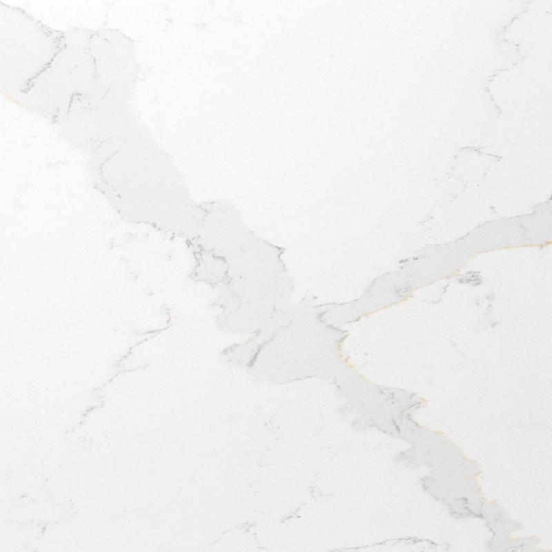 Teltos Calacatta 59x122 20 mm Polished Quartz Slab
